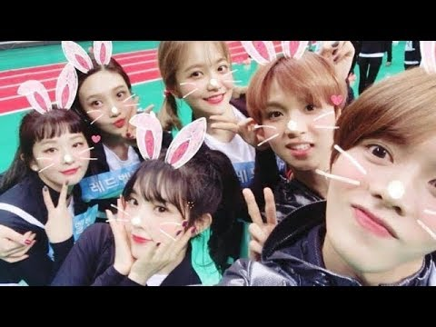 Red Velvet x NCT moments at ISAC 2018