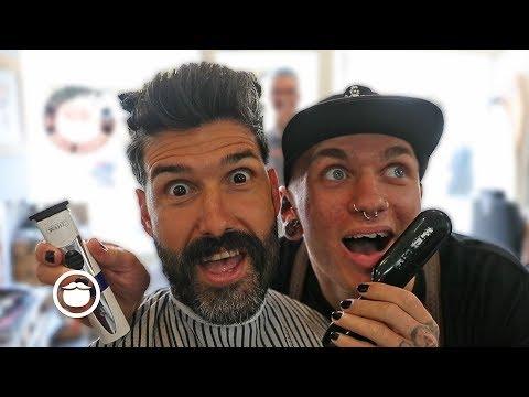 Master Barber Films Hilarious Haircut