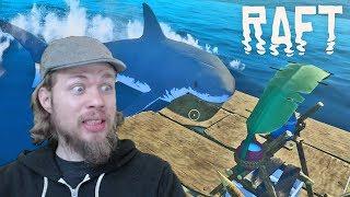 Sobrevivência Na Jangada | Raft Gameplay | Alpha 10 EP1
