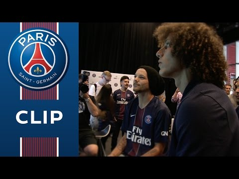 FIFA 17 with David Luiz, Kurzawa and Louis Tomlinson