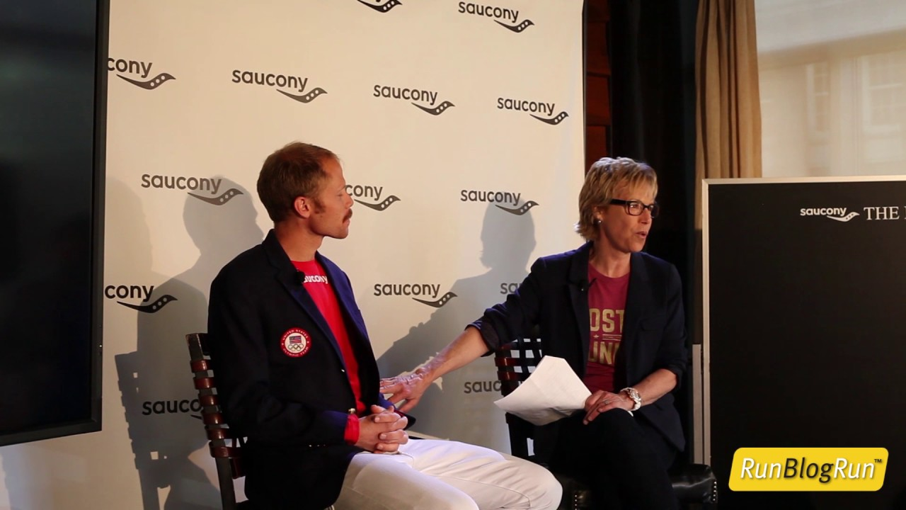 Saucony Press Conference with Jared Ward