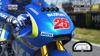 MotoGP 15 - Maverick Vinales - Le Mans Race (Gameplay)