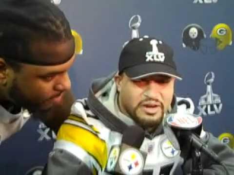 Steelers interviewing Steelers