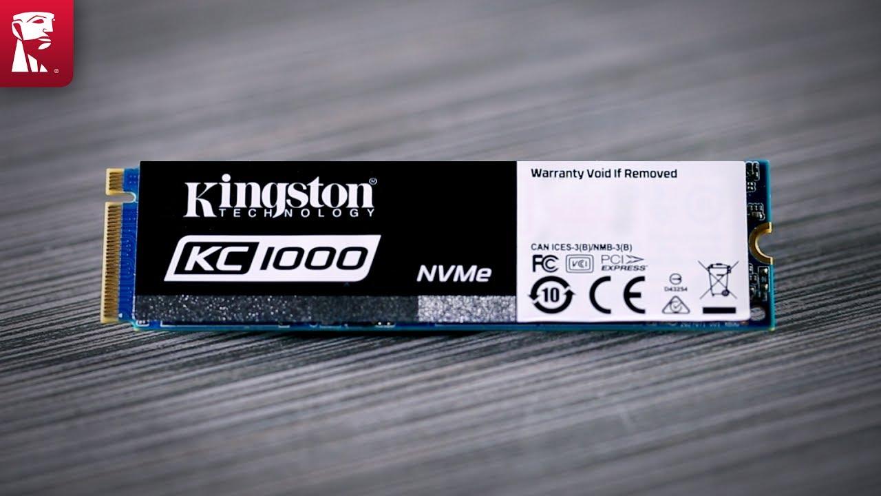 Nvme Pcie And M 2 Ssd For Desktop Workstation Kc1000 Kingston