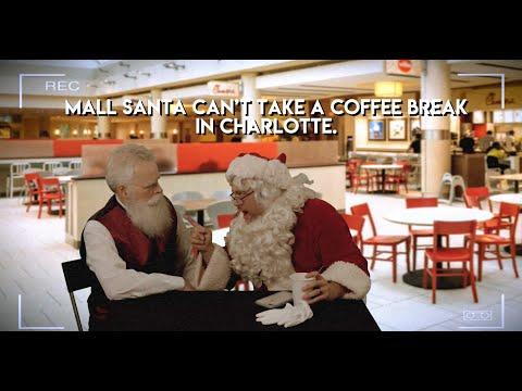 Mall Santa Can't Take a Break in Charlotte