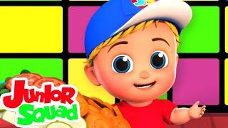 لا لا أغنية    مقاطع فيديو تعليمية   أغنية الأطفال   Junior Squad Arabic   مرحلة ما قبل المدرسة