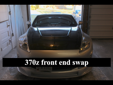 370z Front End Swap Youtube