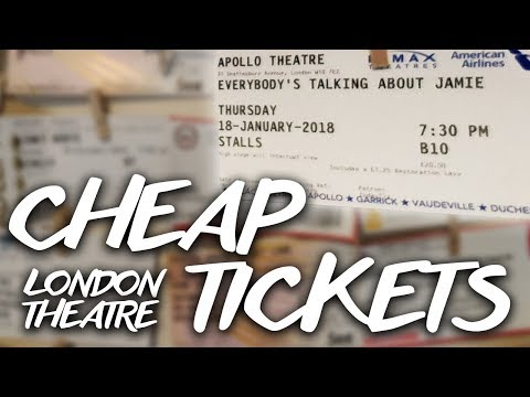 How to get Cheap  West End Theatre Tickets in London | Zack Harley