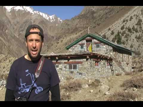 National Geographic Adventure at Nepal Trust  Health Post Ha