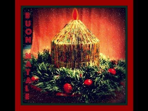 Lavoretti Di Natale Arte Per Te.Come Fare Un Centrotavola Elegante E Low Cost Per Natale Ricilo Creativo Comesifa Arte Per Te Youtube