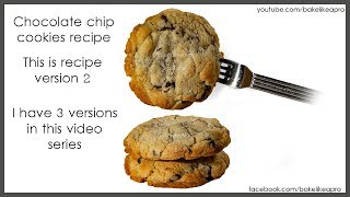 Easy Large Sweet And Salty Chocolate Chip Cookies Recipe  Rev 2