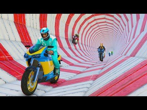 EL TUBO DE ACELERACIÓN!!! - CARRERA GTA V ONLINE - GTA 5 ONLINE