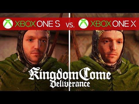Kingdom Come: Deliverance Comparison - Xbox One X vs. Xbox One S vs. Xbox One