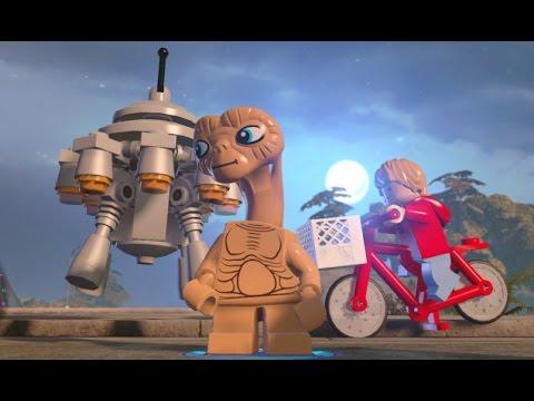 E.T.'s Phone Home - Secret Vehicles + Upgrades - LEGO Dimensions