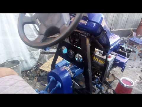 Мини трактор с мотоблока мтз 05