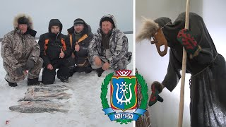 Щука клюет одна за одной Зимняя рыбалка на жерлицы в Сибири