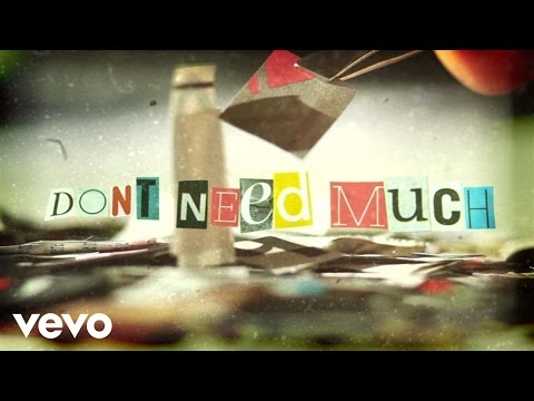 Travis Mills - Don't Need Much (Lyric Video)