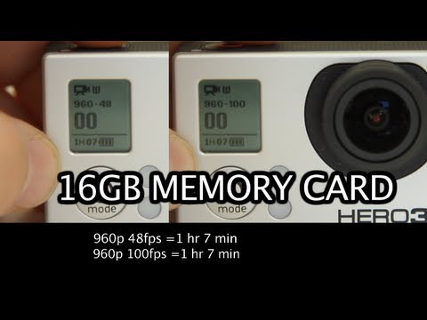 How Long Can You Record With 16GB Memory Card? GoPro Tip #94