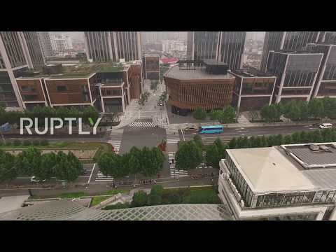 China: The art of motion – 'Bronze bamboo' facade of Shanghai's latest landmark MOVES