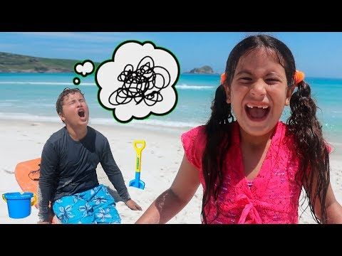 UM DIA DIVERTIDO NA PRAIA ♥ A fun day on the beach!