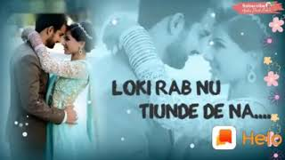Tere pyar ch rangeya ae......... Song. Best song