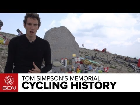 Tom Simpson Memorial On Mont Ventoux - What Is The Significance?