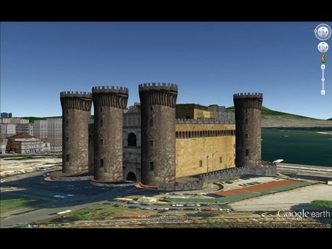 HISTORICAL PLACES OF ITALY IN GOOGLE EARTH  PART ONE ( 1/5 )