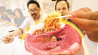 LEVEL 9999 Ramen Tour of Tokyo, Japan - ULTIMATE WAGYU Beef Ramen + FOIE GRAS Ramen -  Japanese Food