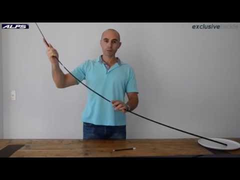 Rod building basics part 1 finding the spine youtube for Finding a builder