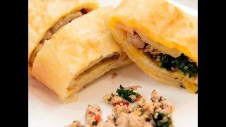 泰式打拋豬蛋餅 Pad Krapow Moo Egg Pancake