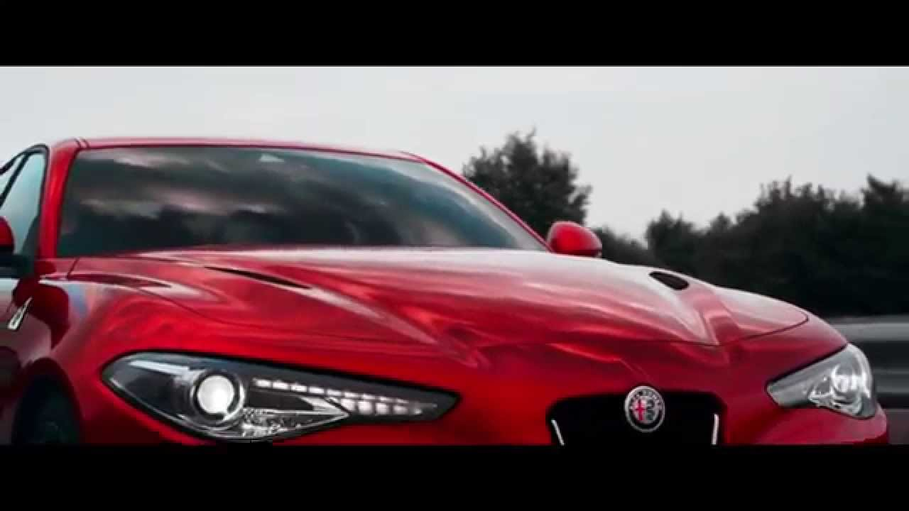 nouvelle alfa romeo giulia 2015 vid o officielle youtube. Black Bedroom Furniture Sets. Home Design Ideas
