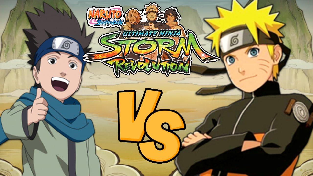 Naruto Shippuden Ultimate Ninja Storm Revolution ...