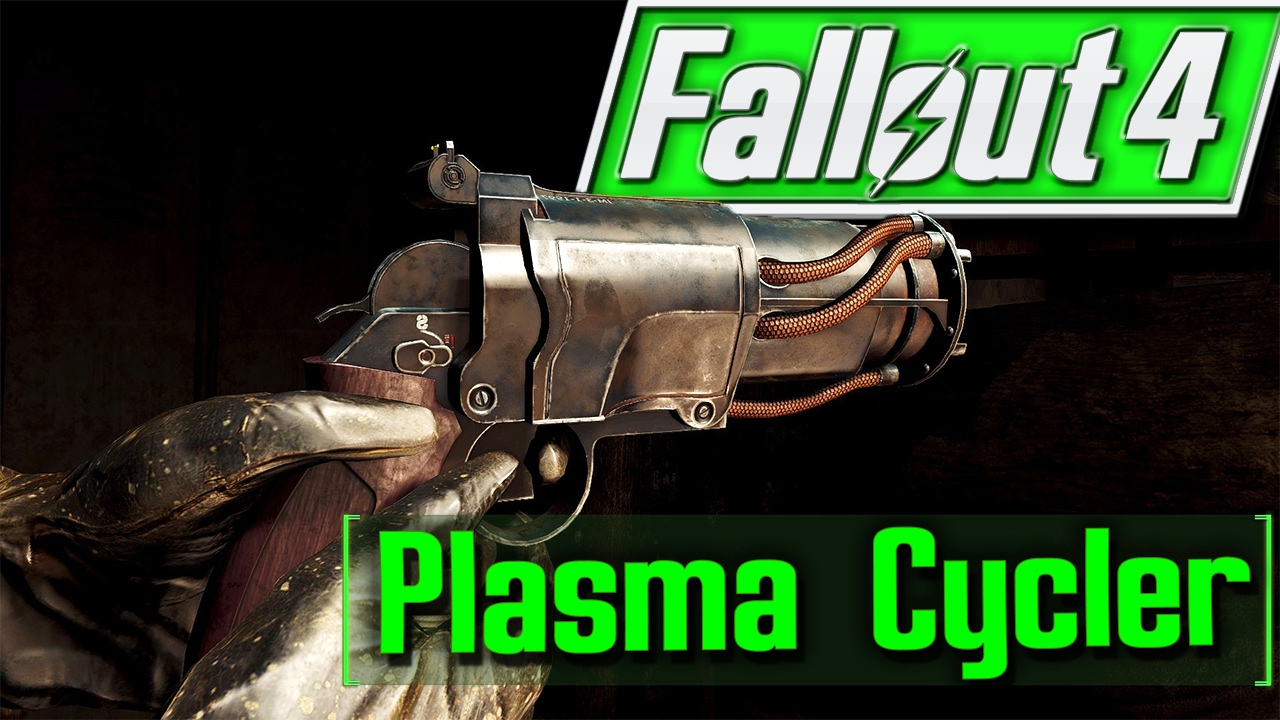 Fallout 4 console mods plasma cycler xbox pc youtube - What consoles will fallout 4 be on ...