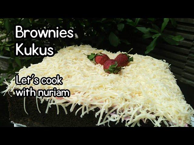 Brownies Kukus Ny.liem | Cara membuat Brownies kukus ny liem