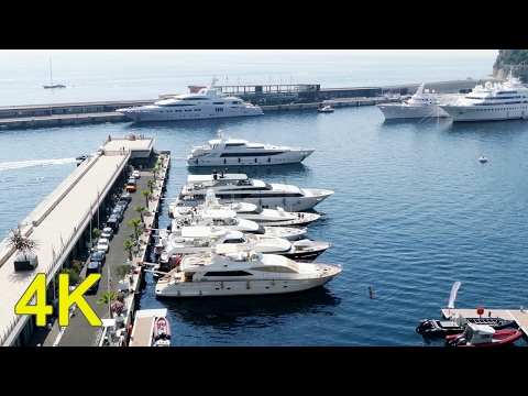 Monaco, Monte Carlo - Amazing 4K UHD video FZ300
