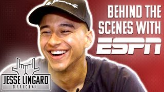"Jesse & ESPN - Behind The Scenes! | ""Milky Rock - What's That?!"" 