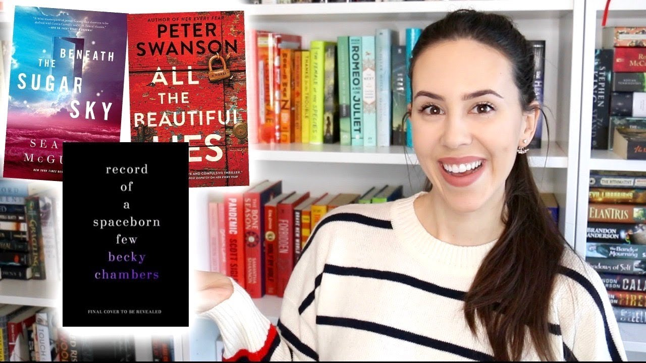 Most Anticipated Book Releases Of 2018 Books I Want To Read Youtube