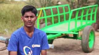 Brake System for Bullock Cart |  Santosh Kaveri
