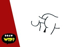 Funny Dirty Drawings! How to draw Goal-keeper - Draw WTF
