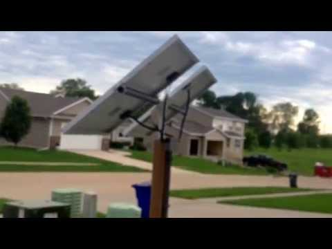 1 year solar panel system update 305 watts in Iowa cost and production test