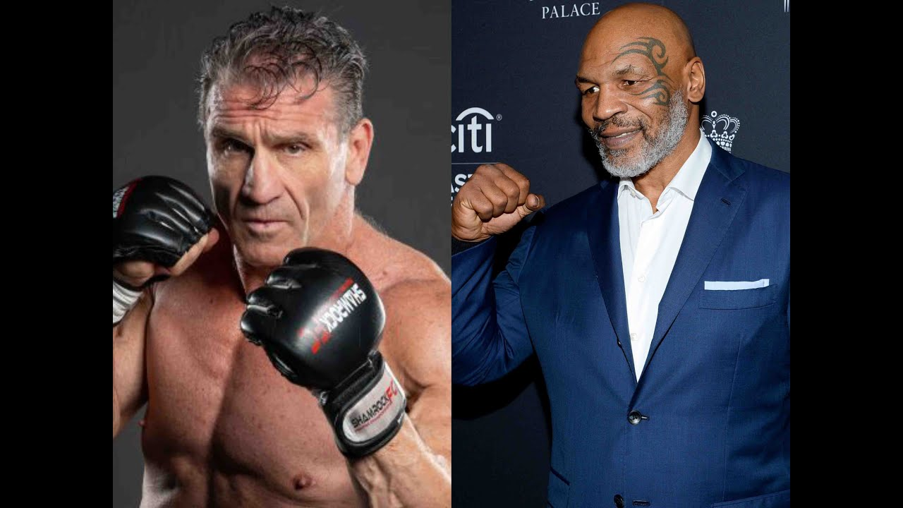 Ken Shamrock Says He Would Fight Mike Tyson Youtube