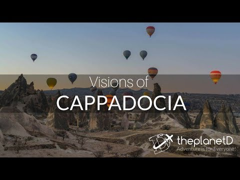 Extraordinary Visions of Cappadocia in 4K (Ultra HD)