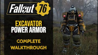 Fallout 76 - Excavator Power Armor Guide