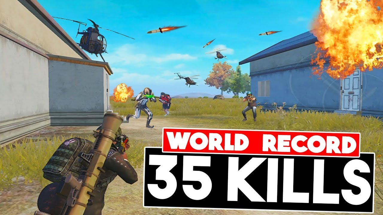 WORLD RECORD IN NEW MODE PAYLOAD | 35 KILLS | PUBG Mobile