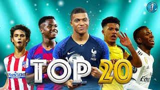 Top 20 Young Talents in Football 2019/2020 ● Kylian Mbappe ● Joao Felix ● Ansu Fati ● Dembele &