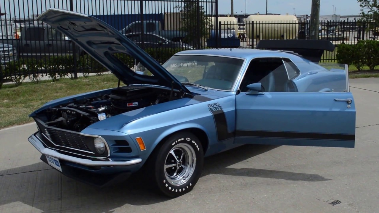 1970 Ford Mustang Boss 302 - Frank\'s Car Barn - Buy, Sell and Trade ...