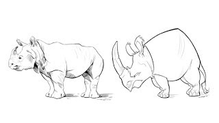 Draw an animal in cartoon and realistic style | TUTPAD Course Introduction