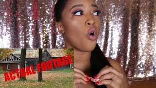 STORY TIME: THE HAUNTED HOUSE W/ACTUAL FOOTAGE!