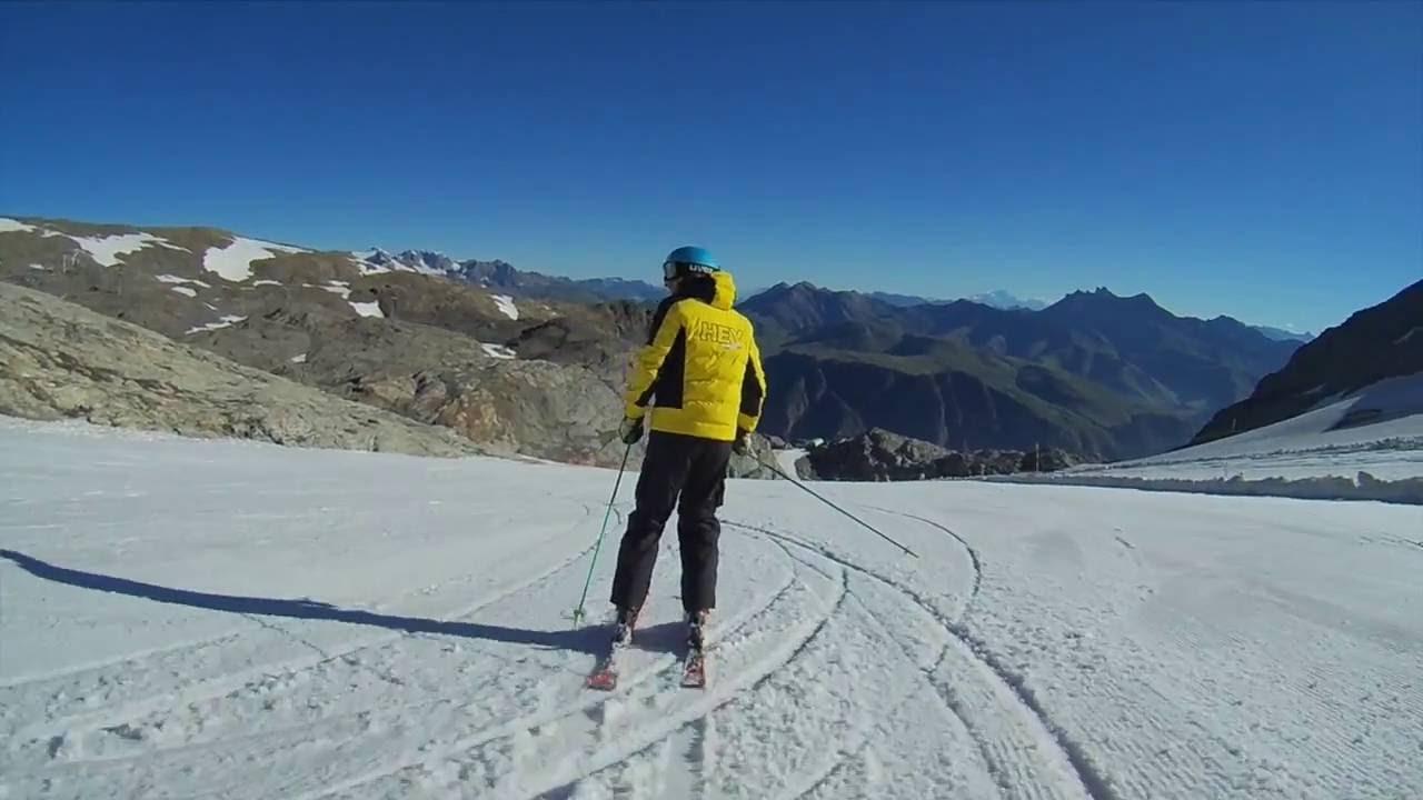 L2a longhi omar #camp a les deux alpes sci estivo
