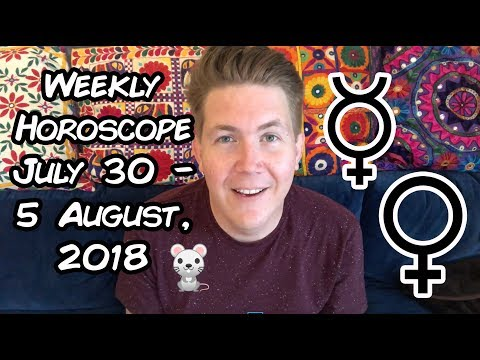 Weekly Horoscope for July 30 – 5 August, 2018 | Gregory Scott Astrology